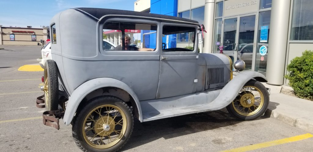 Ford Model A- Harvey Roux